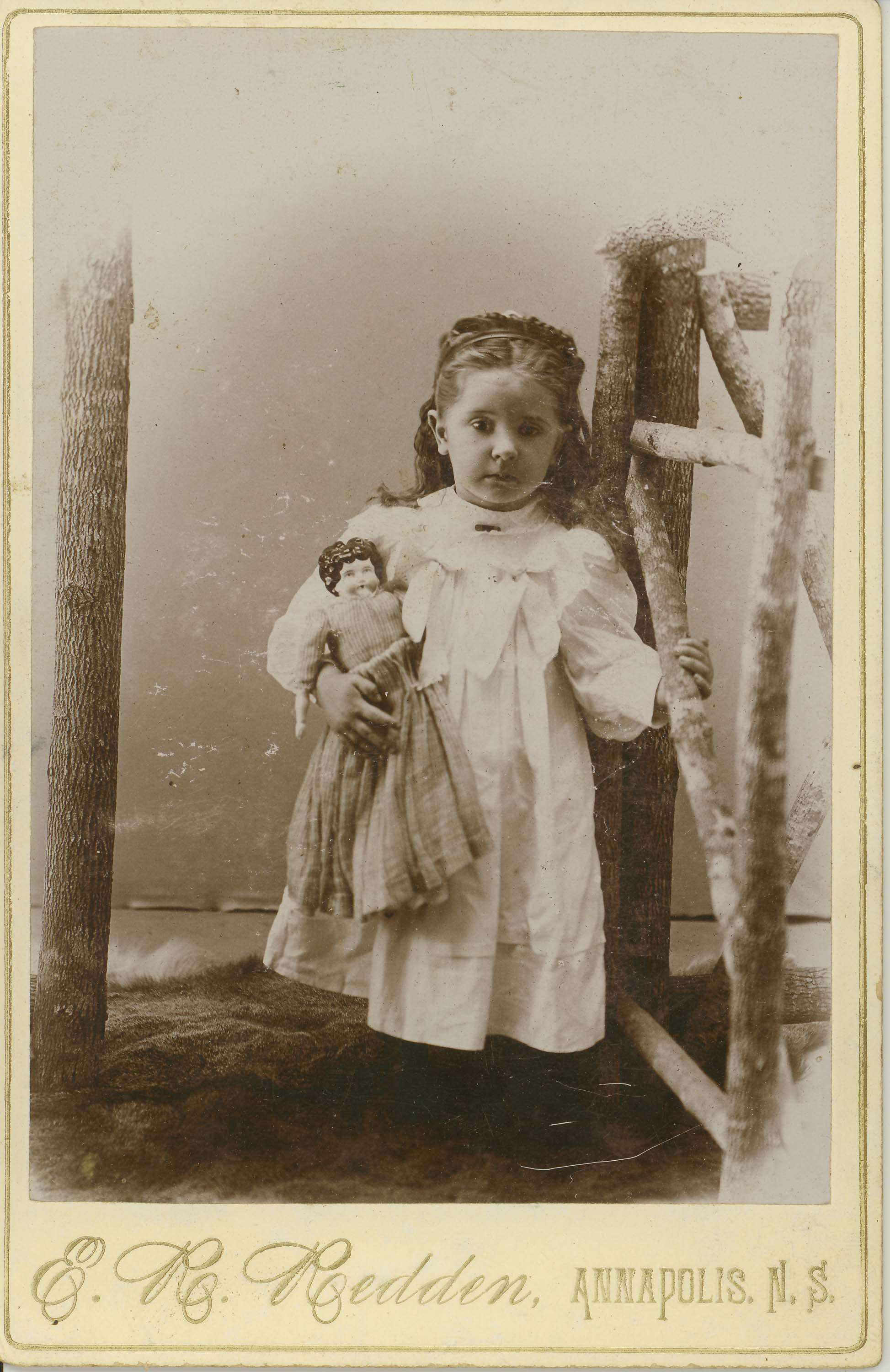 Photo-10-Girl-with-doll-E-R-Redden-Annapolis-NS