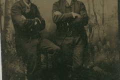 Tin-type-6-Two-men-in-hats-treed-background