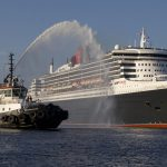 Queen Mary cruise ship visits Halifax.